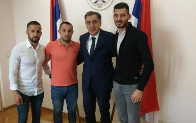Održan sastanak šefa Predstavništva Republike Srpske u Srbiji