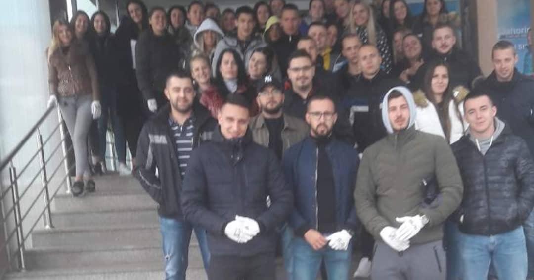 Članovi našeg Udruženja učestovali su u prvoj studentskoj akciji čišćenja Jahorine od 1984 godine 1
