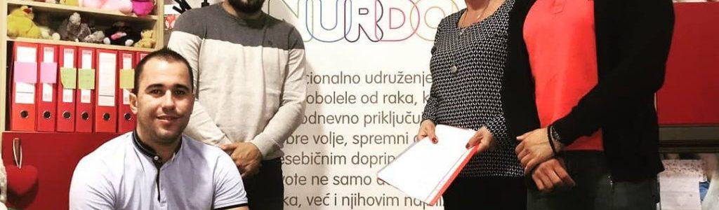 Saradnja sa humanitarnim udruženjem NURDOR Srbija 2