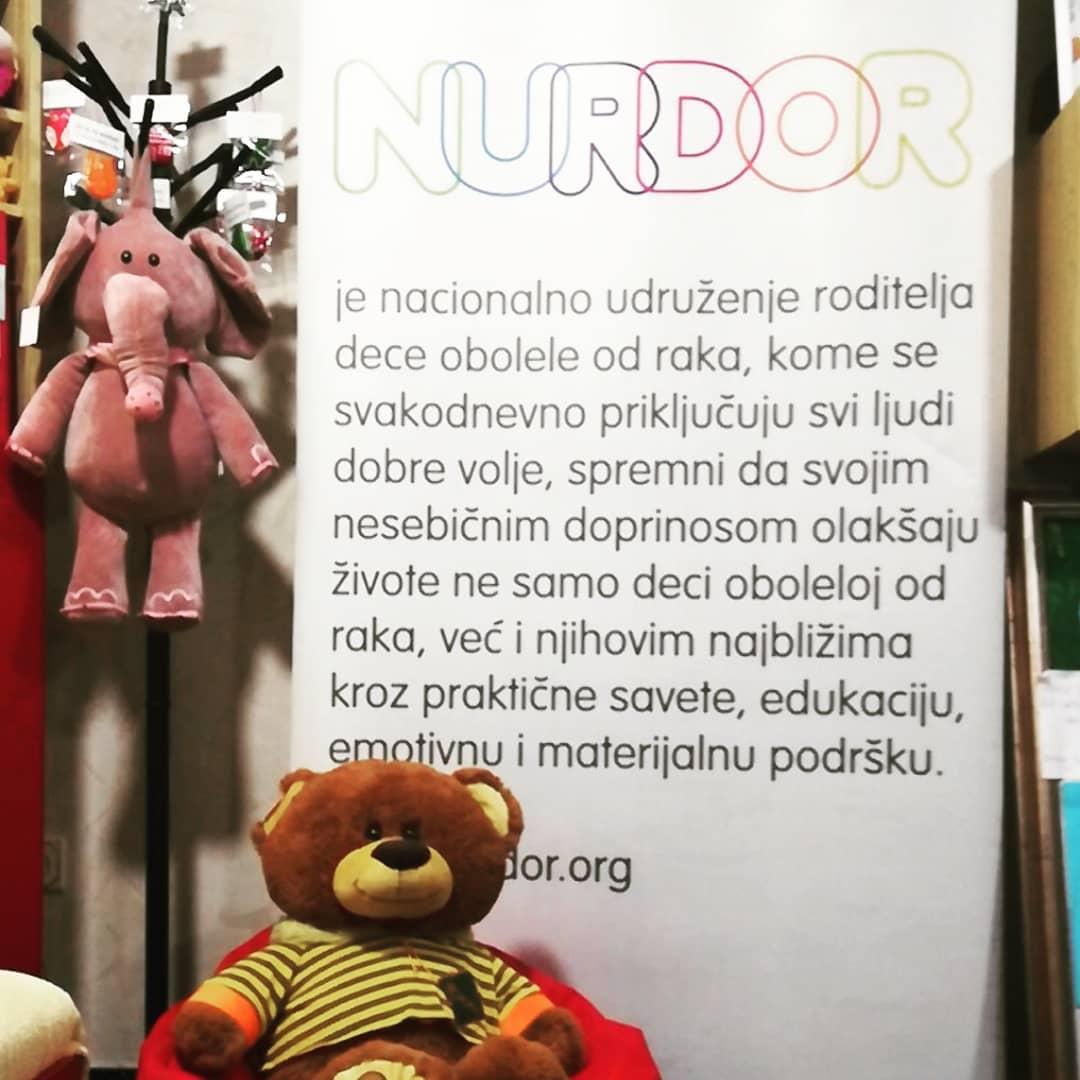 Saradnja sa humanitarnim udruženjem NURDOR Srbija